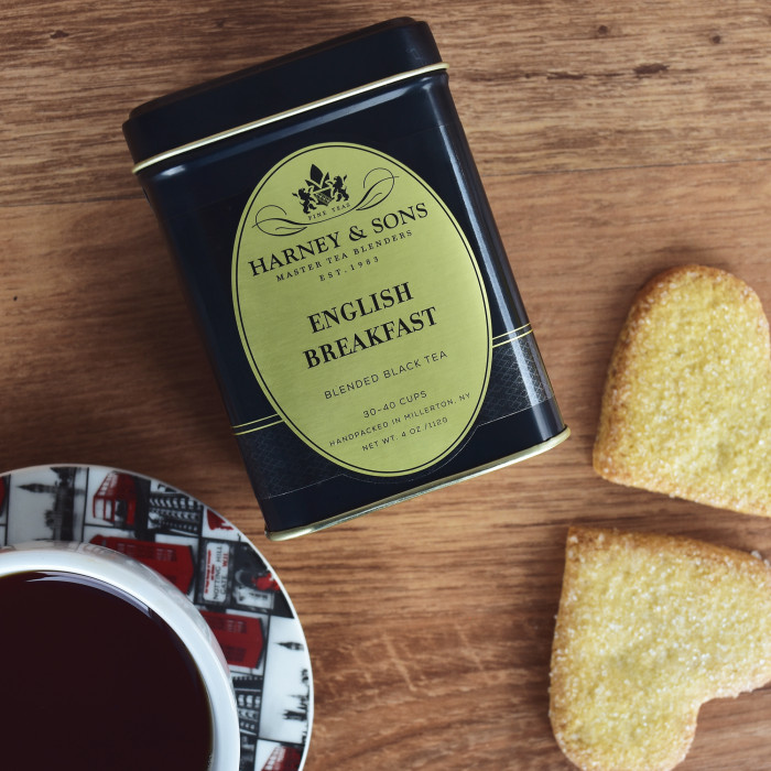 "Melnā tēja Harney & Sons ""English Breakfast"", 112 g"