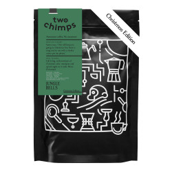 "Coffee beans Two Chimps ""Christmas Edition. Jungle Bells"", 250 g"