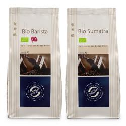 """Kaffeebohnen-Set """"Kaffee Braun Bio Espresso Set"""", 2 x 1 kg"""