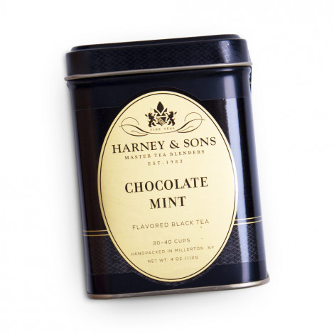 "Schwarzer Tee Harney & Sons ""Chocolate Mint"", 112 g"