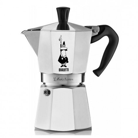 "Kafijas pagatavotājs Bialetti  ""Moka Express 6-cup Silver"""