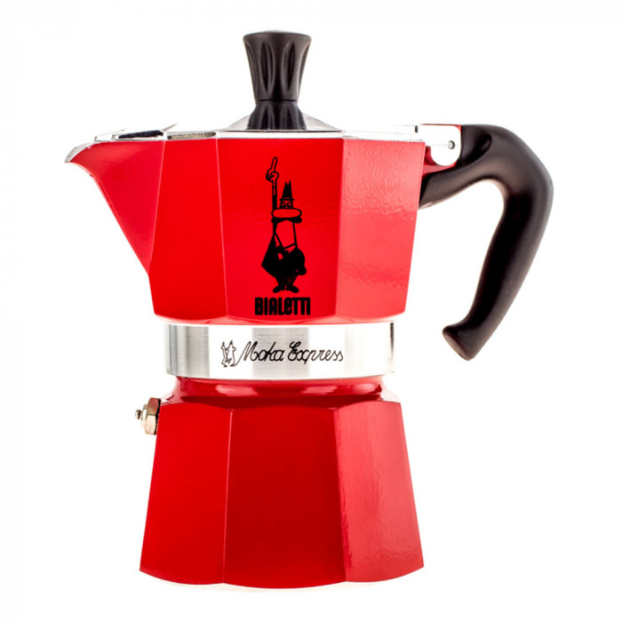 "Coffee maker Bialetti ""Moka Express 3-cup Red"""