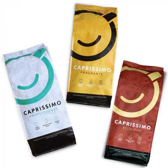 "Coffee bean set ""Caprissimo Trio"", 3 kg"