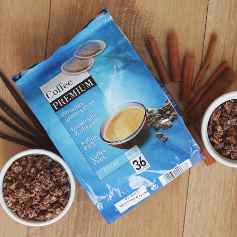"Kafijas spilventiņi Coffee Premium ""Decaf"", 250 g, 36 gab."