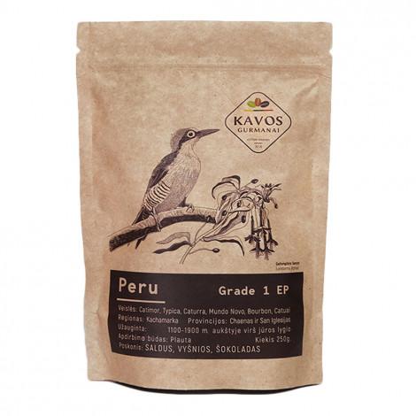 """Maltā kafija Kavos Gurmanai """"Peru EP1"""", 250 g"""