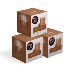 "Kaffeekapseln-Set NESCAFÉ Dolce Gusto ""Café Au lait"", 3 x 16 Stk."
