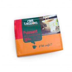 "Kaffeepads Café Liégeois ""Puissant"", 18 Stk."