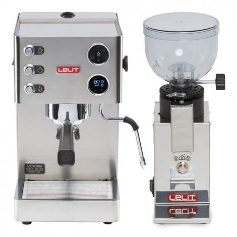 "Espressomaschine Lelit ""Victoria PL91T"" + ""Fred PL043MMI"""