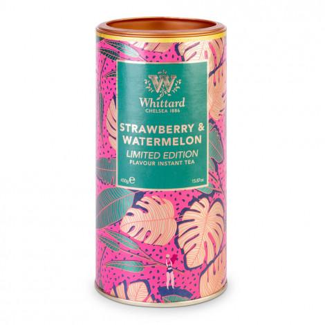 "Šķīstošā tēja Whittard of Chelsea ""Limited Edition Strawberry and Watermelon"", 450 g"