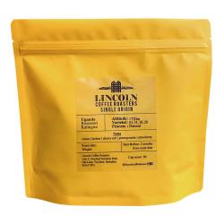 "Coffee beans Lincoln Coffee House ""Uganda Natural"", 250 g"